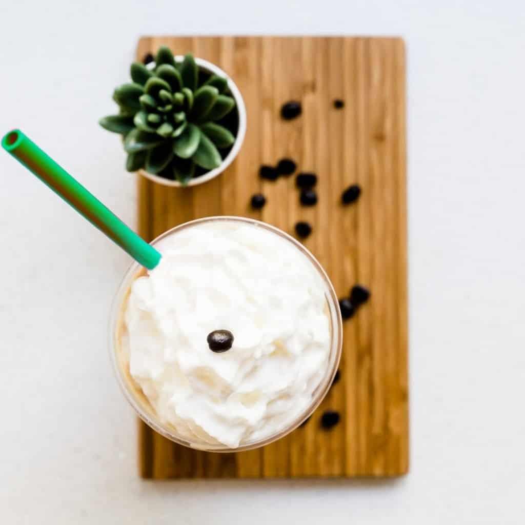 Keto Starbucks Copycat Frappuccino LowCarbingAsian Pic