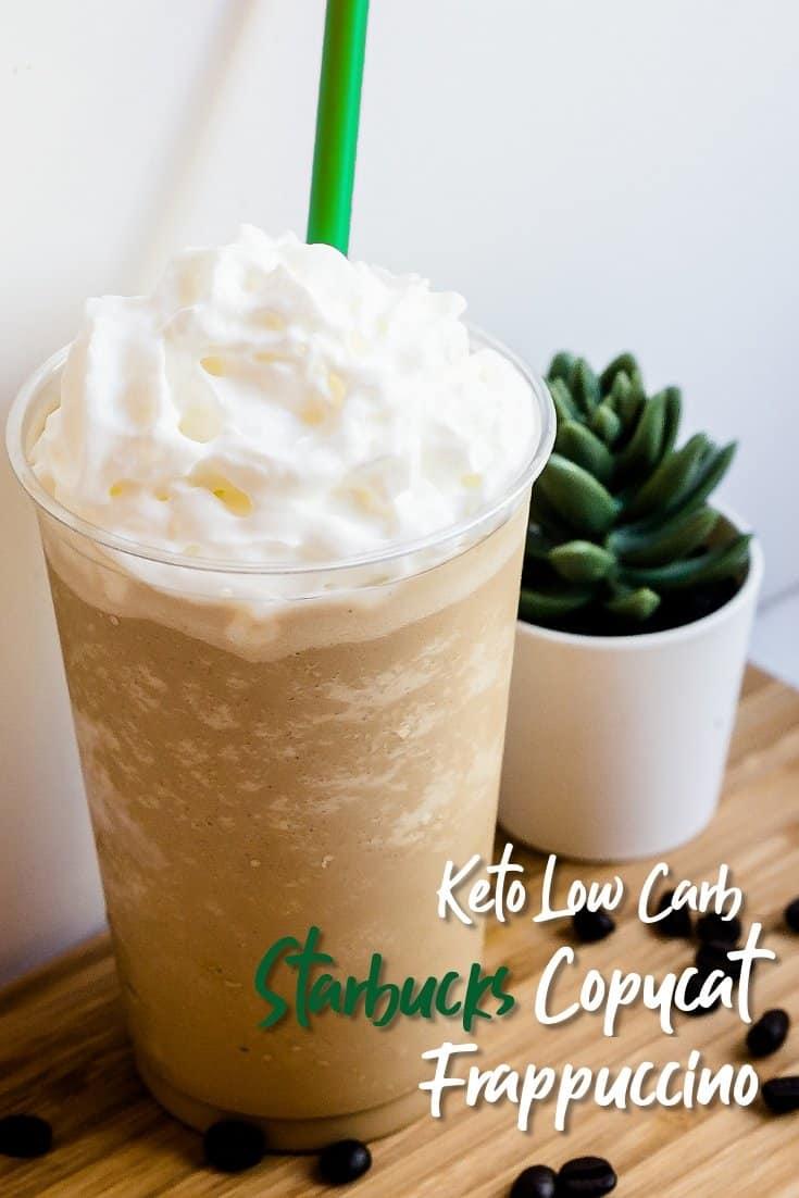 Keto Starbucks Copycat Frappuccino LowCarbingAsian Pin 2