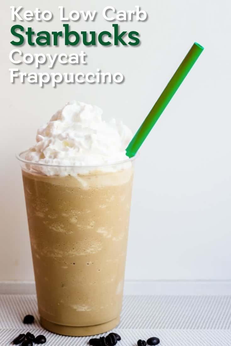 Keto Starbucks Copycat Frappuccino LowCarbingAsian Pin