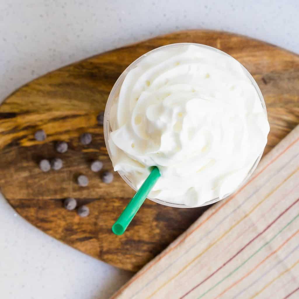 Keto Starbucks Copycat Mocha Frappuccino LowCarbingAsian Pic