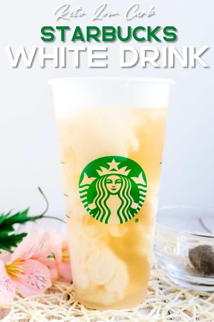 Keto Starbucks White Drinks LowCarbingAsian Pin 1