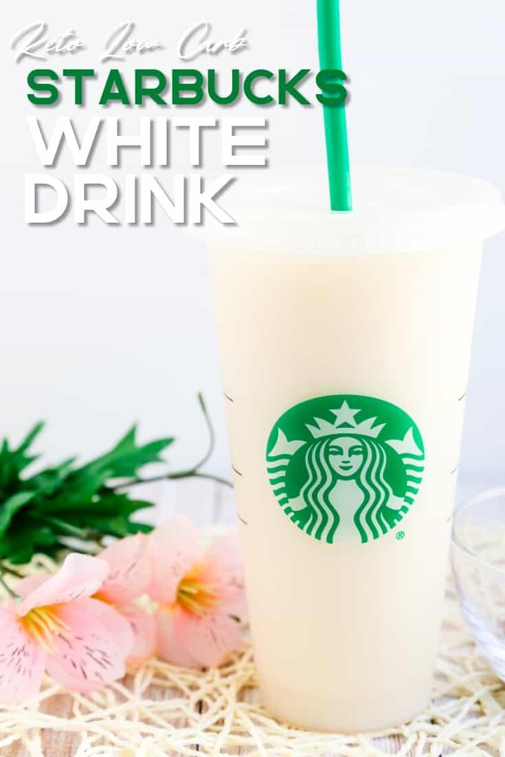 Keto Starbucks White Drinks LowCarbingAsian Pin 2