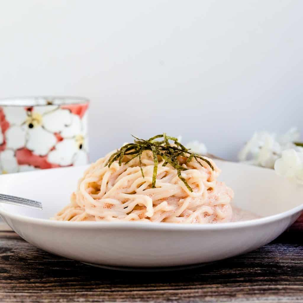 Keto Tarako Spaghetti LowCarbingAsian Pic 1