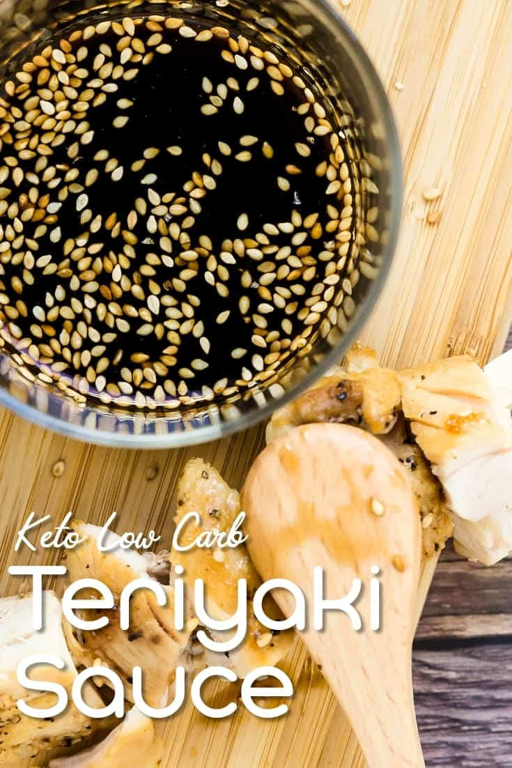Keto Low Carb Teriyaki Sauce