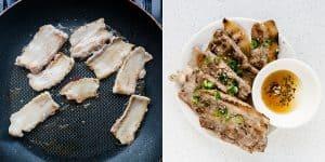 Korean BBQ Grilled Pork Belly Korean BBQ Recipe (39)