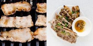 Korean BBQ Grilled Pork Belly Korean BBQ Recipe (40)