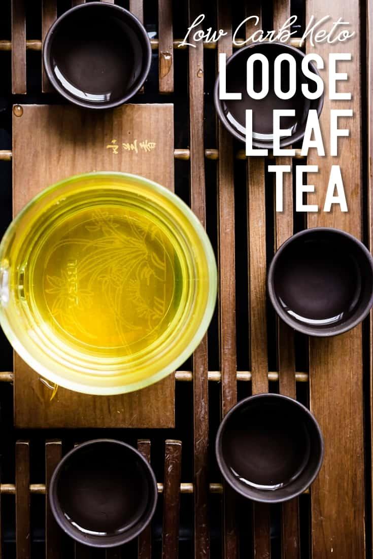 Loose Leave Tea LowCarbingAsian Pin