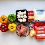 Low Carb Japanese Meatsauce Stuffed Bell Peppers Recipe (1)