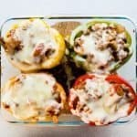 Low Carb Japanese Meatsauce Stuffed Bell Peppers Recipe (25)