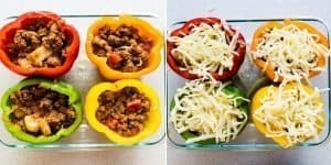Low Carb Japanese Meatsauce Stuffed Bell Peppers Recipe (35)