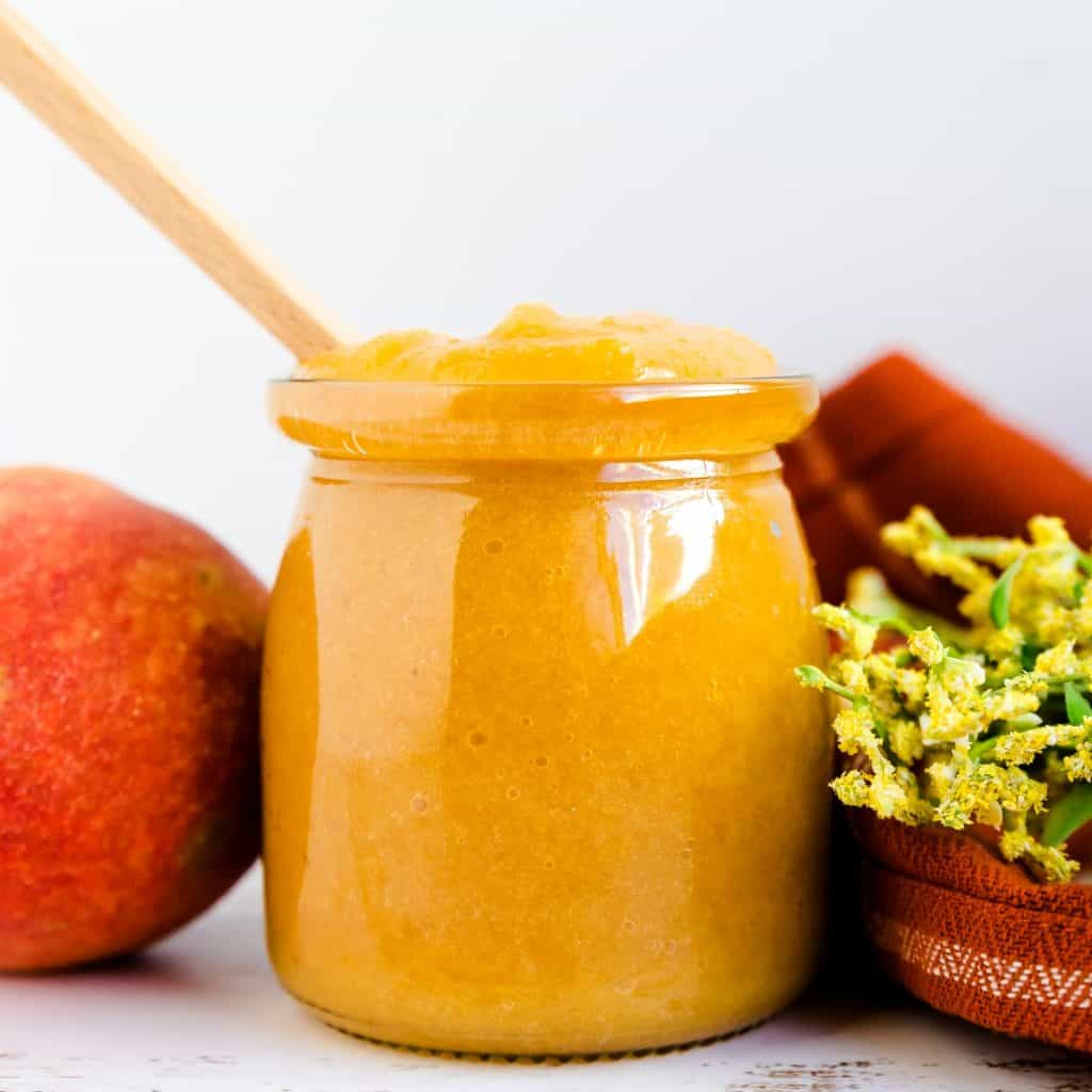 Low Carb Peach Sauce LowCarbingAsian Pic 2