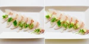 Red Seabream Carpaccio Sashimi Recipe (14)
