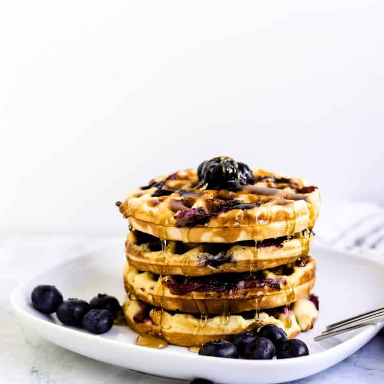 Blueberry Chaffle LowCarbingAsian Cover