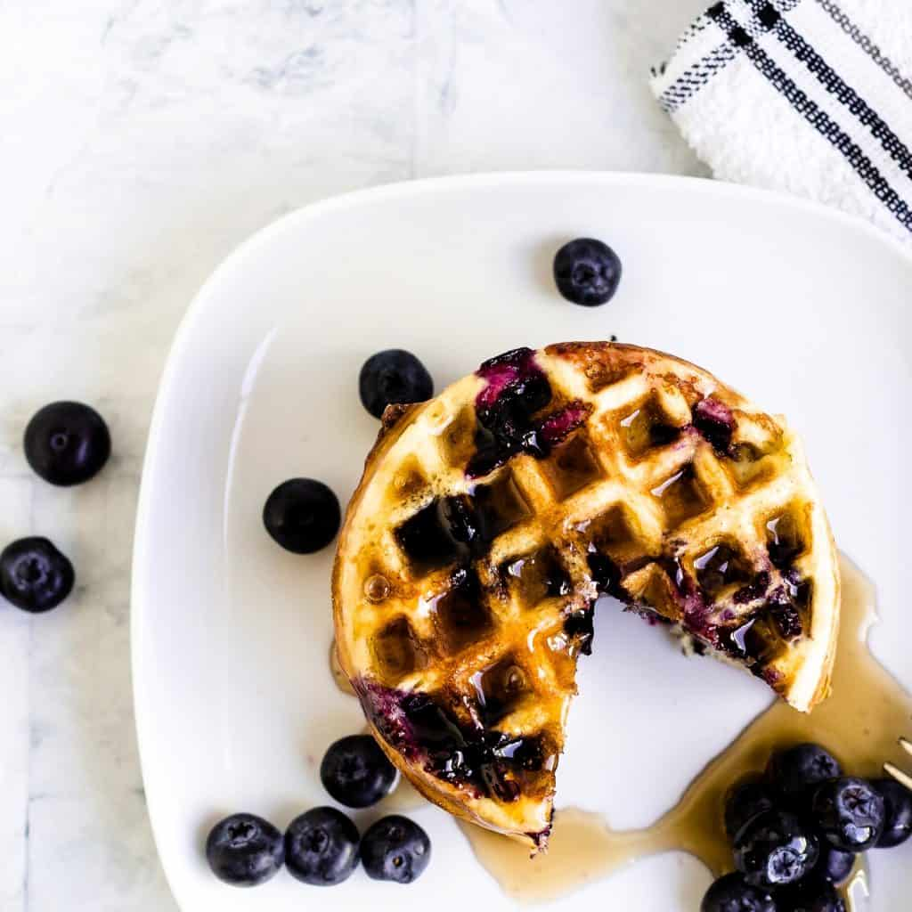 Blueberry Chaffle LowCarbingAsian Pic