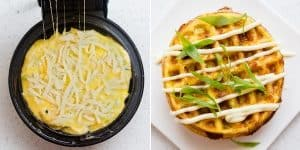 Cheese Waffle Japanese Breakfast Omelet Recipe (30)