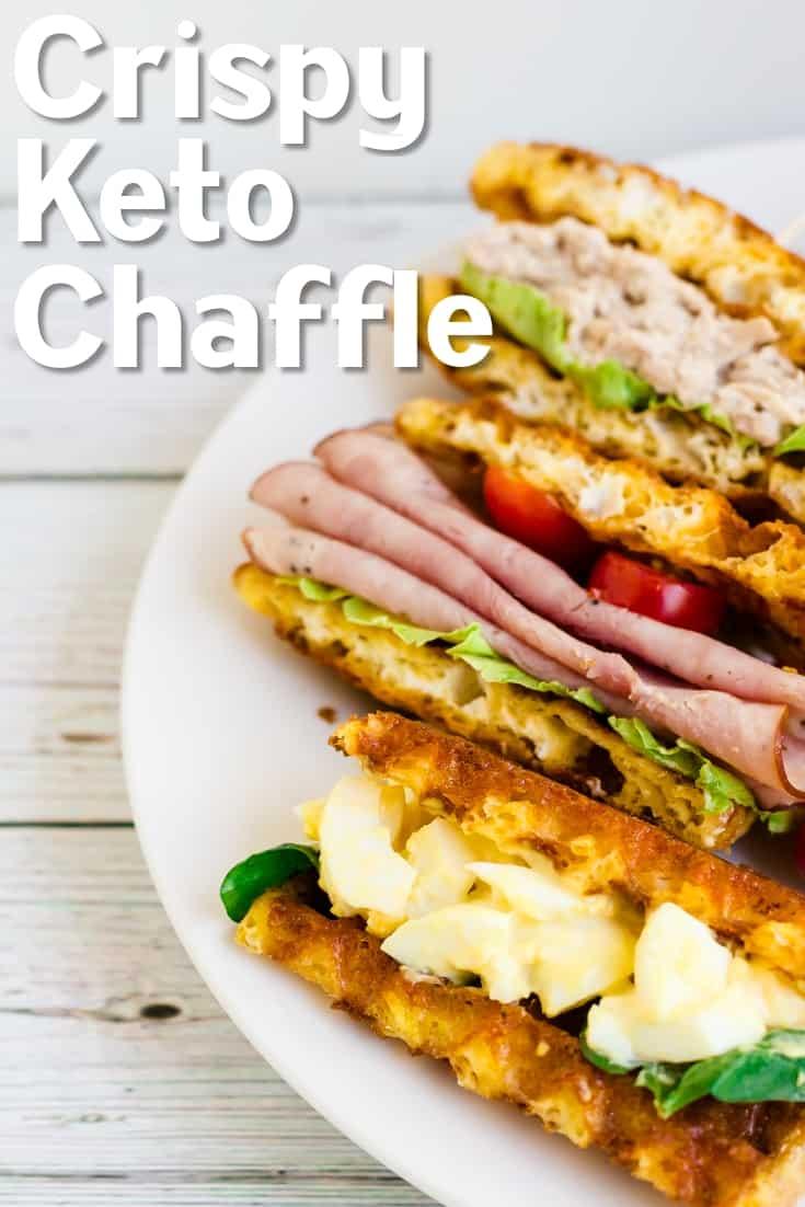 Crispy Keto Chaffle