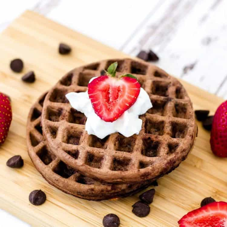 Double Chocolate Chaffle LowCarbingAsian Cover