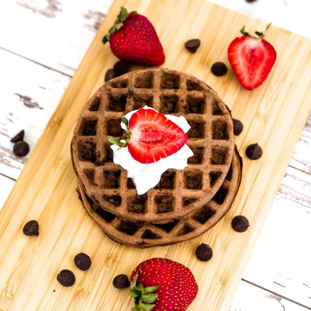 Double Chocolate Chaffle LowCarbingAsian Pic 4
