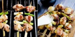 Keto Bacon Wrapped Quail Eggs - Yakitori Recipe (28)
