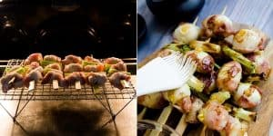 Keto Bacon Wrapped Quail Eggs - Yakitori Recipe (29)