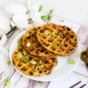 Keto Cauli Chicken Chaffle LowCarbingAsian Cover