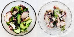 Keto Japanese Octopus Salad - Tako Su Recipe (43)