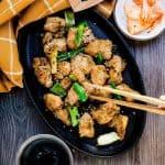 Keto Korean BBQ Marinated Chicken LowCarbingAsian Cover 2