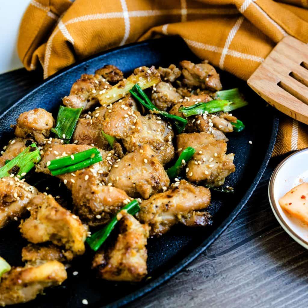 Keto Korean BBQ Marinated Chicken LowCarbingAsian Pic 3