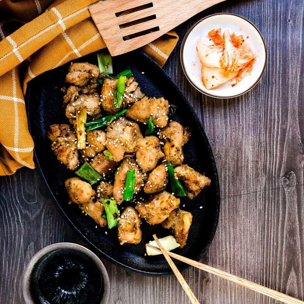 Keto Korean BBQ Marinated Chicken LowCarbingAsian Pic 4