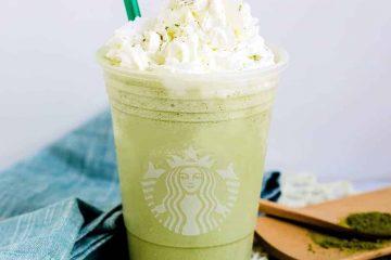 Keto Starbucks Copycat Matcha Creme Frappuccino