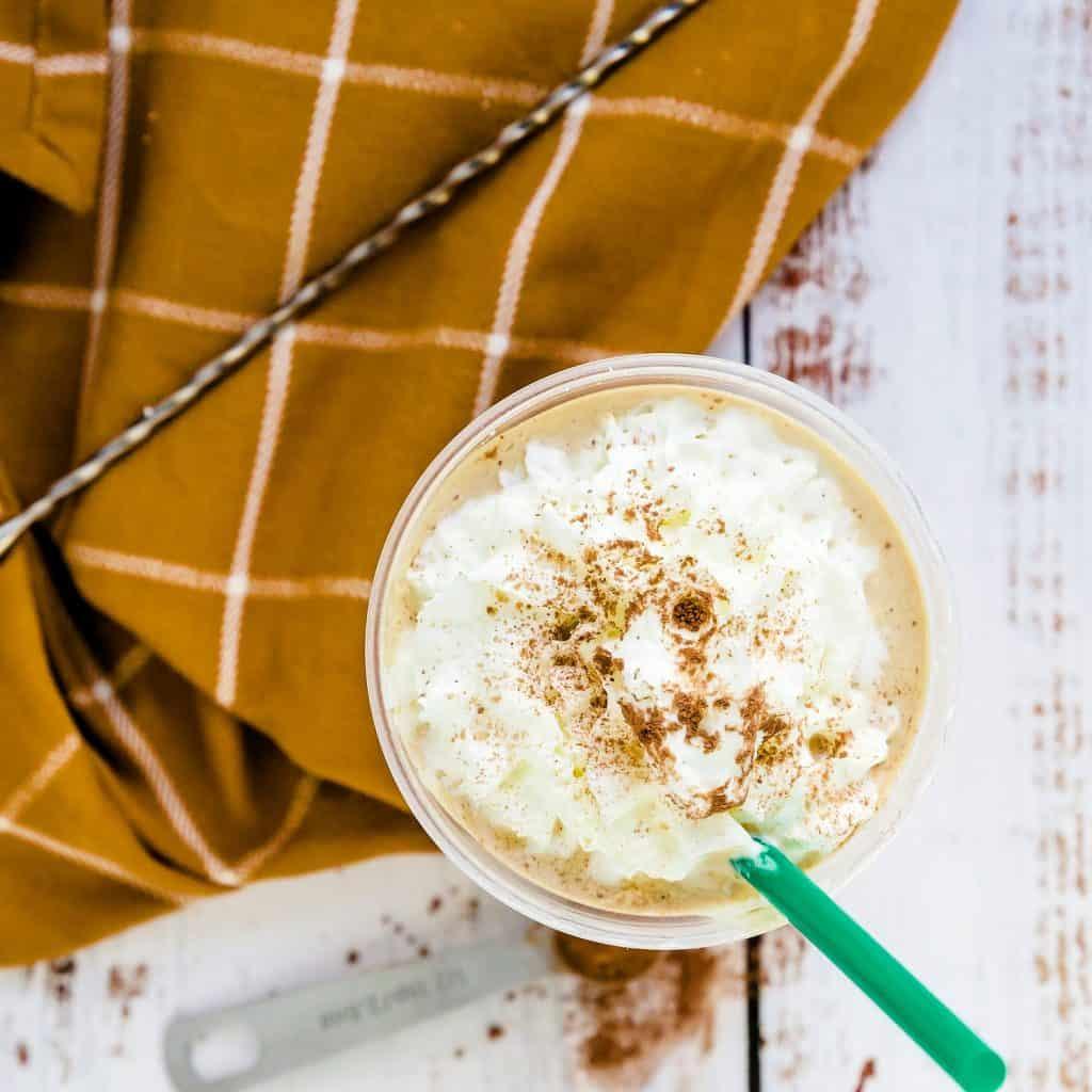 Keto Starbucks Copycat Mocha Frappuccino Pic 1