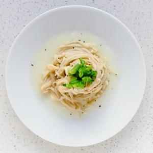 Garlic Butter Enoki Mushrooms