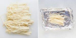 Low Carb Garlic Butter Enoki Mushrooms Recipe (50)