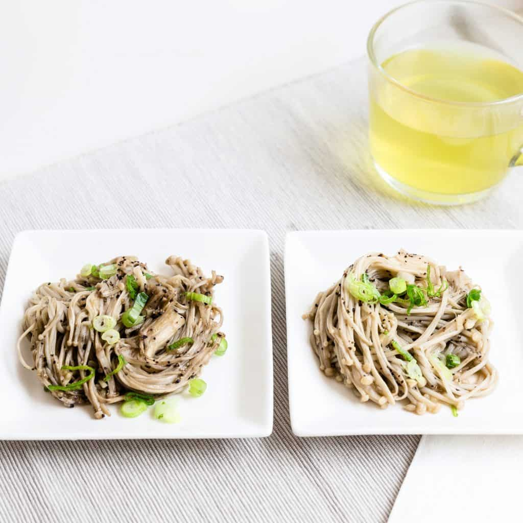 Low Carb Garlic Enoki Mushroom LowCarbingAsian Pic 2