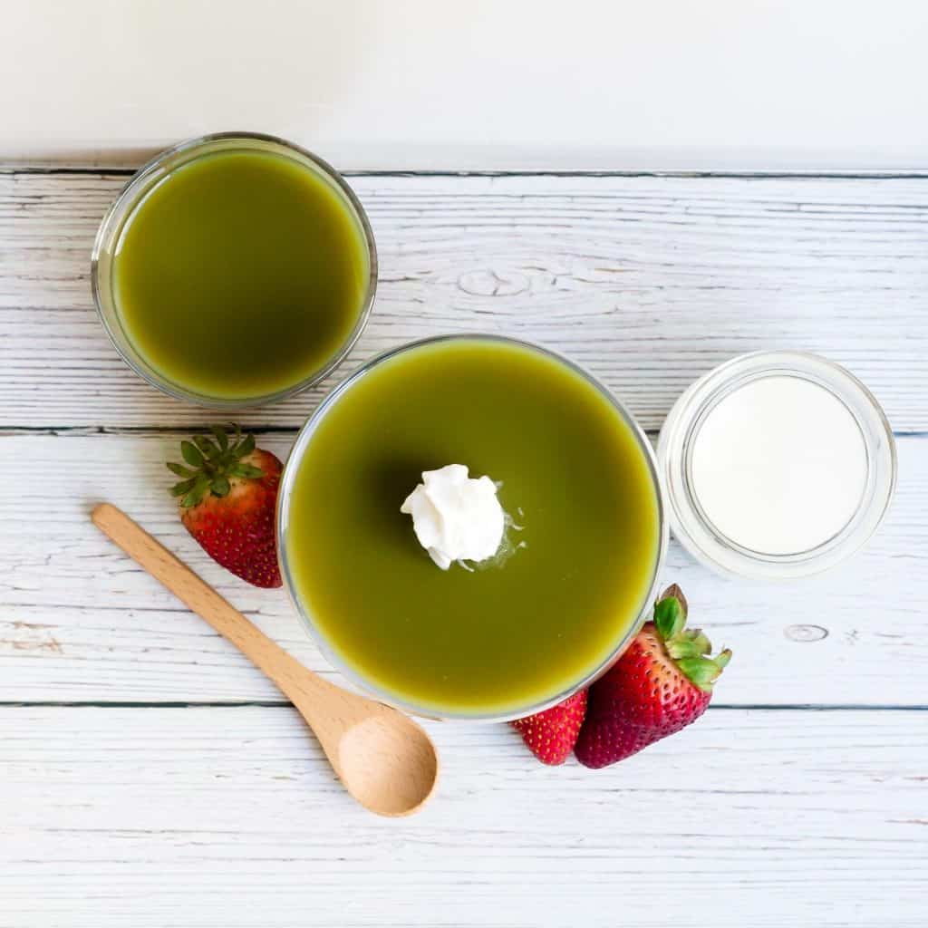 Matcha Jelly LowCarbingAsian Pic