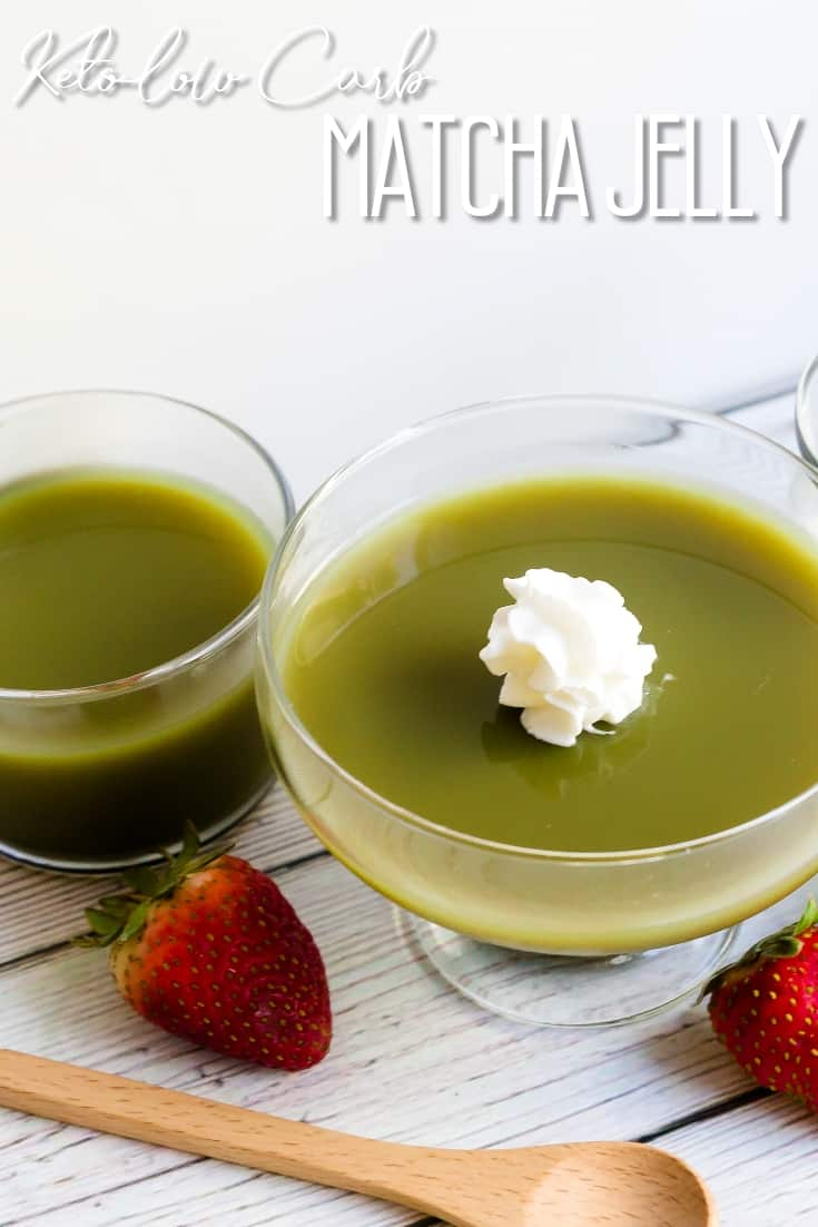 Matcha Jelly LowCarbingAsian Pin 1