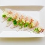 Red Seabream Carpaccio Sashimi