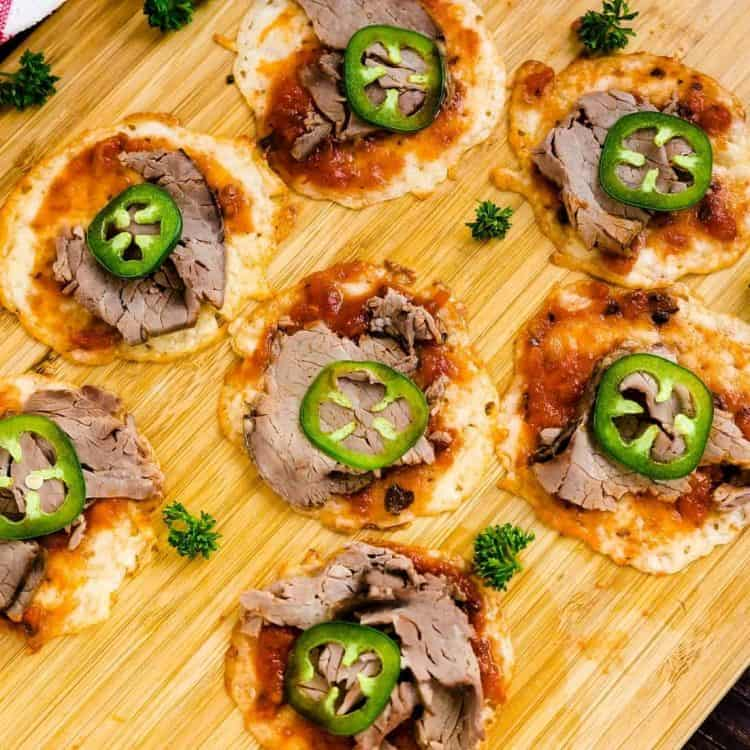 Roast Beef Cheese Crust Pizza LowCarbingAsian Cover