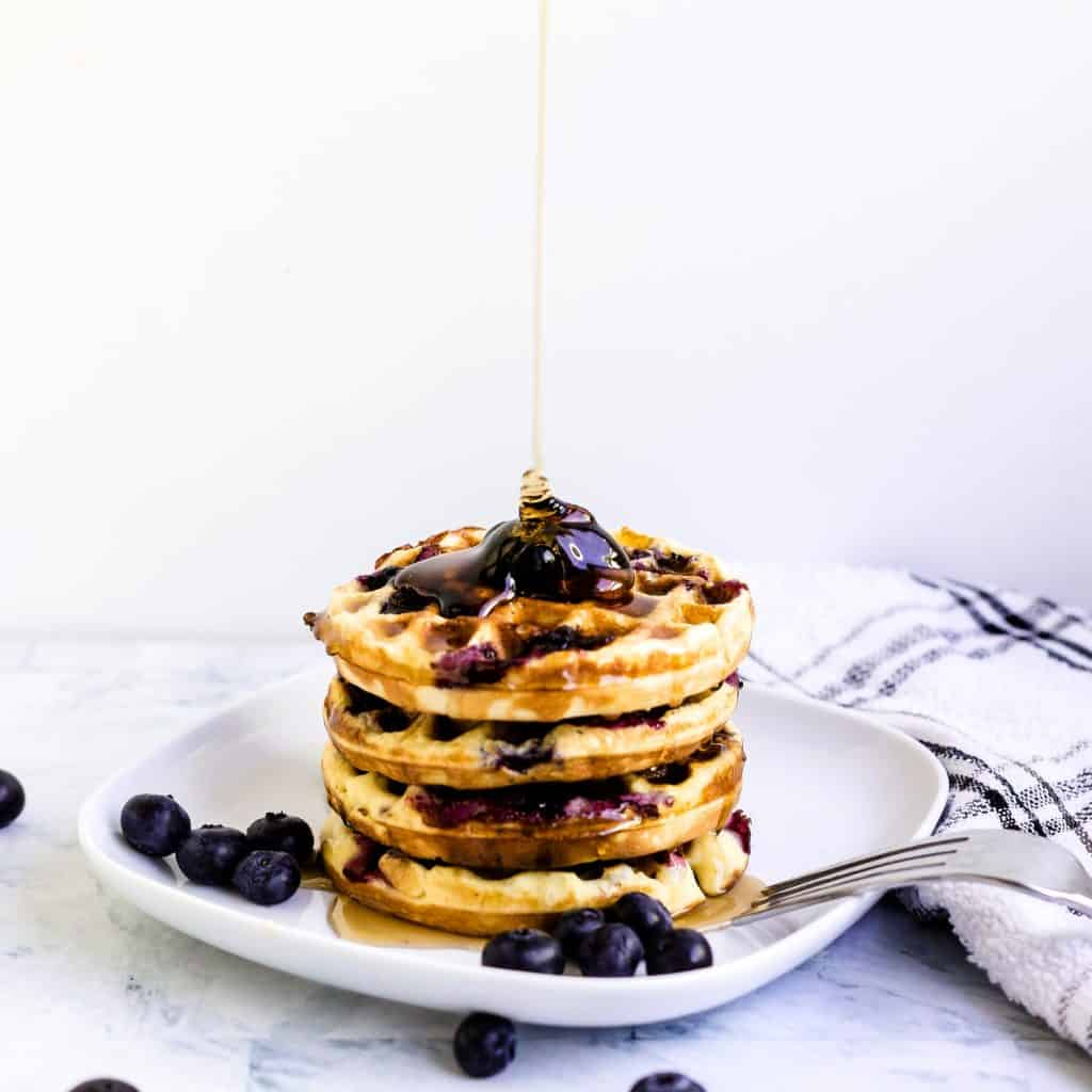 Blueberry Chaffle LowCarbingAsian Pic 2