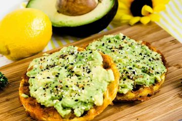 Chaffle Avocado Toast