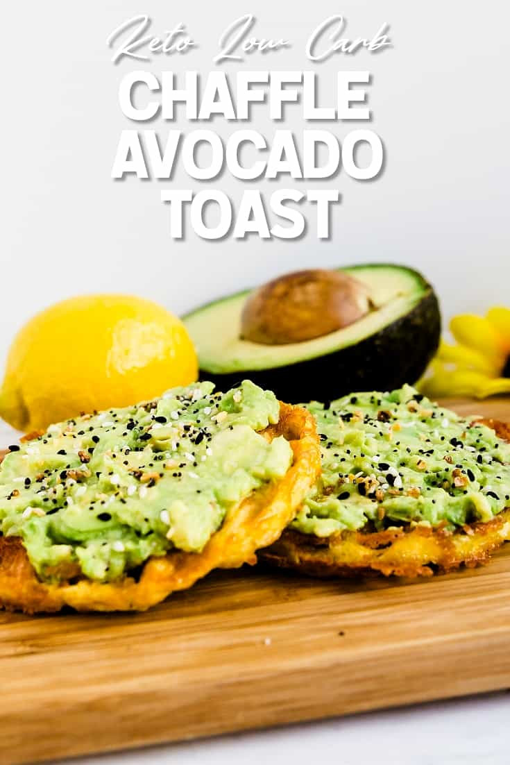 Chaffle Avocado Toast LowCarbingAsian Pin 1