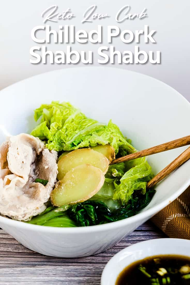 Chilled Pork Shabu Shabu