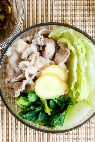 Chilled Pork Summer Shabu Shabu LowCarbingAsian Cover 2