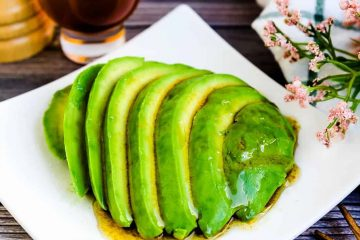 Japanese Style Avocado Salad LowCarbingAsian Cover