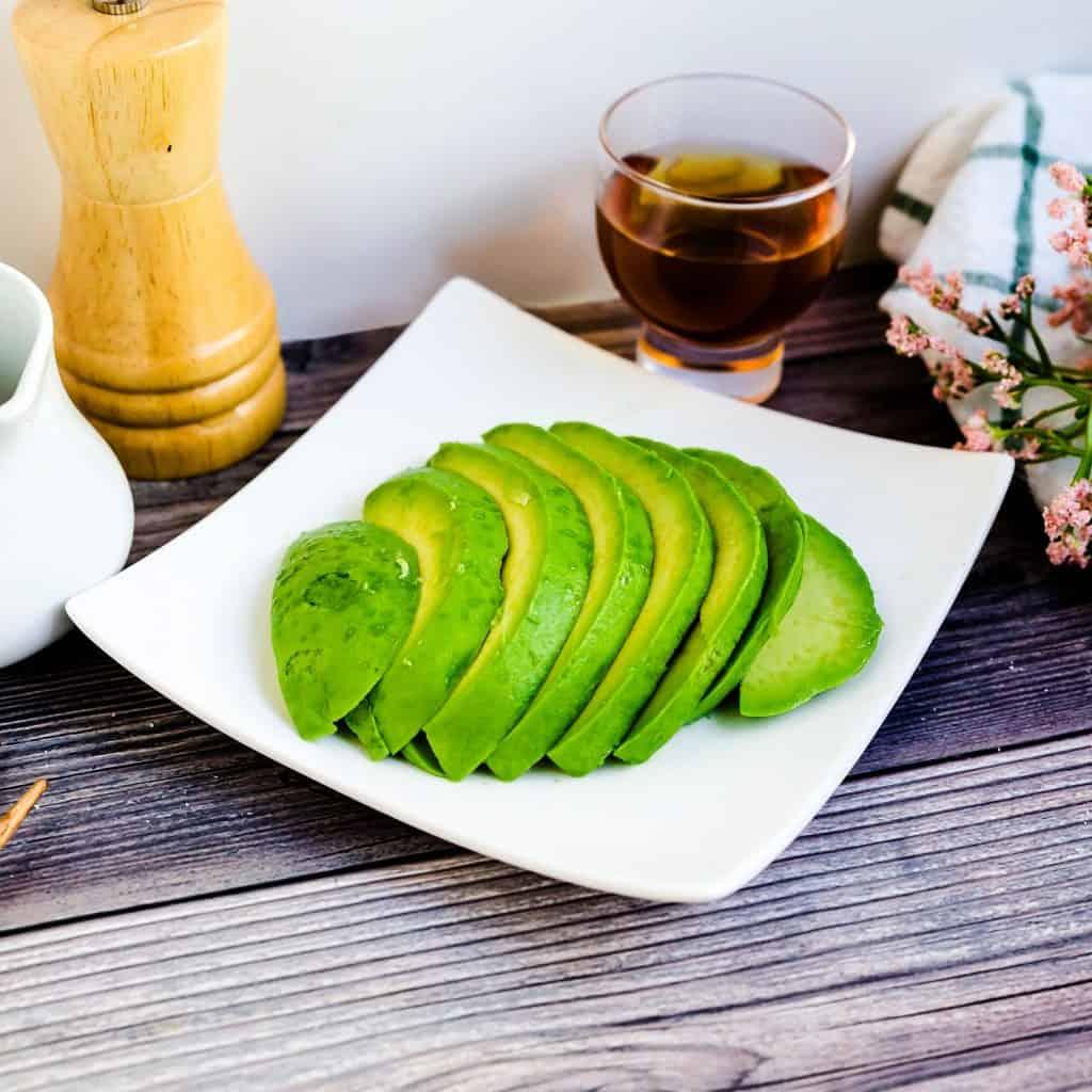Japanese Style Avocado Salad LowCarbingAsian Pic 2