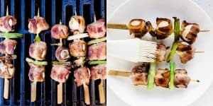 Keto Bacon Wrapped Quail Eggs - Yakitori Recipe 8