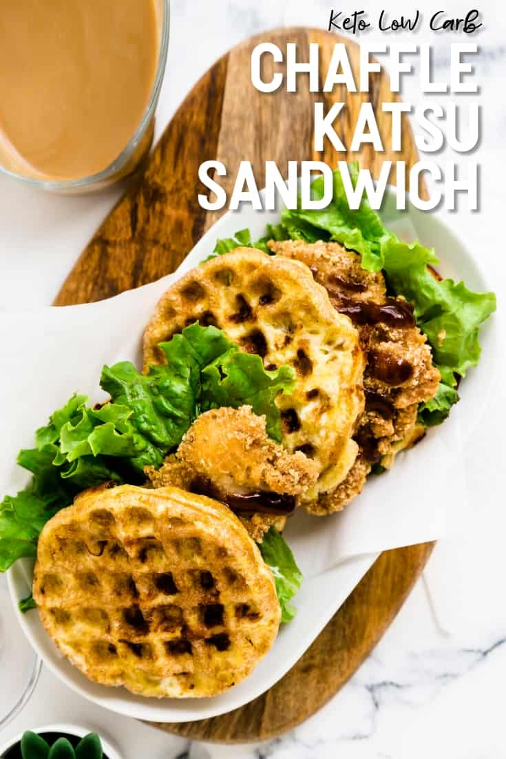 Keto Chaffle Katsu Sandwich LowCarbingAsian Pin 1
