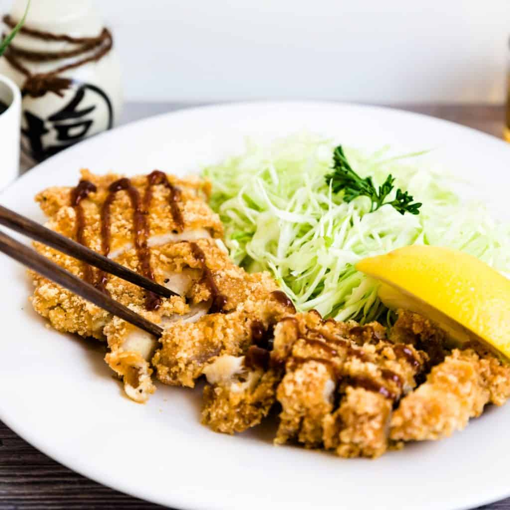 Keto Chicken Katsu - Cutlet LowCarbingAsian Pic