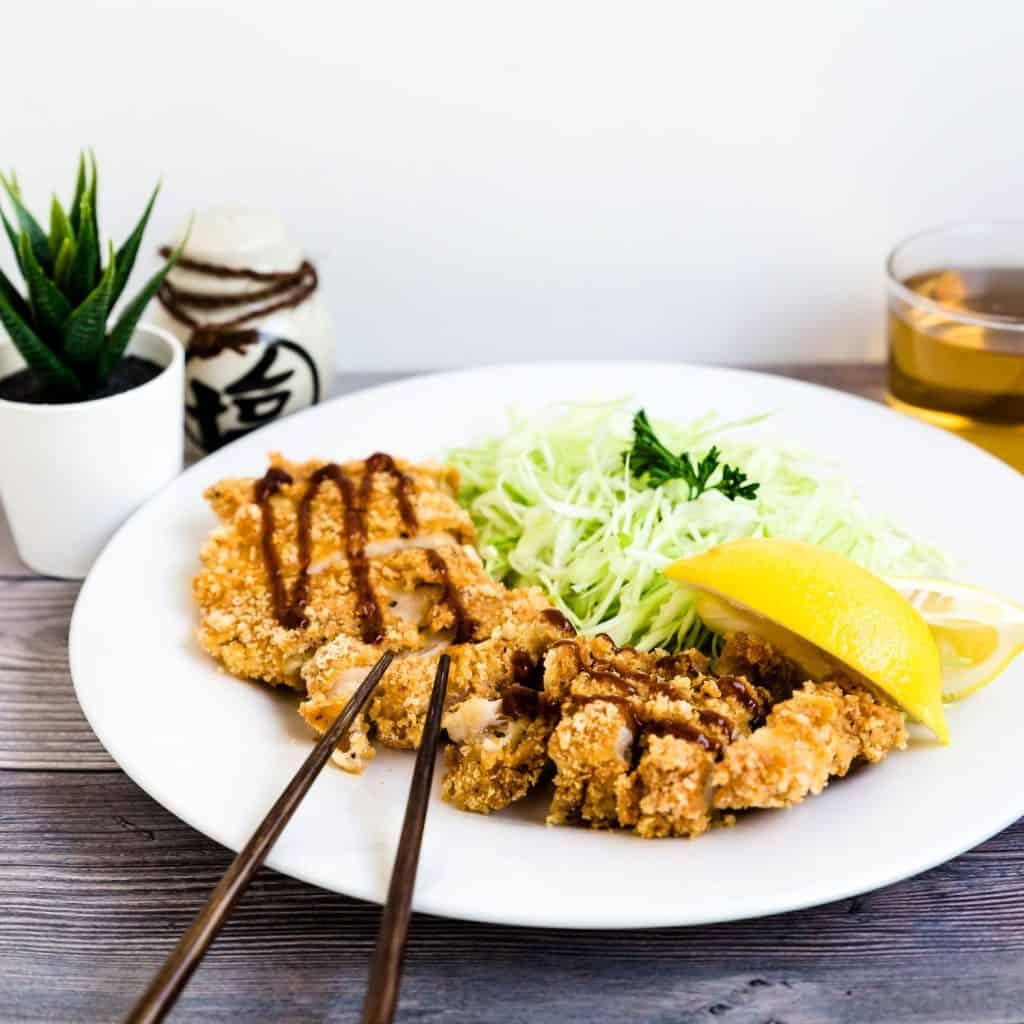 Keto Chicken Katsu - Cutlet LowCarbingAsian Pic 2