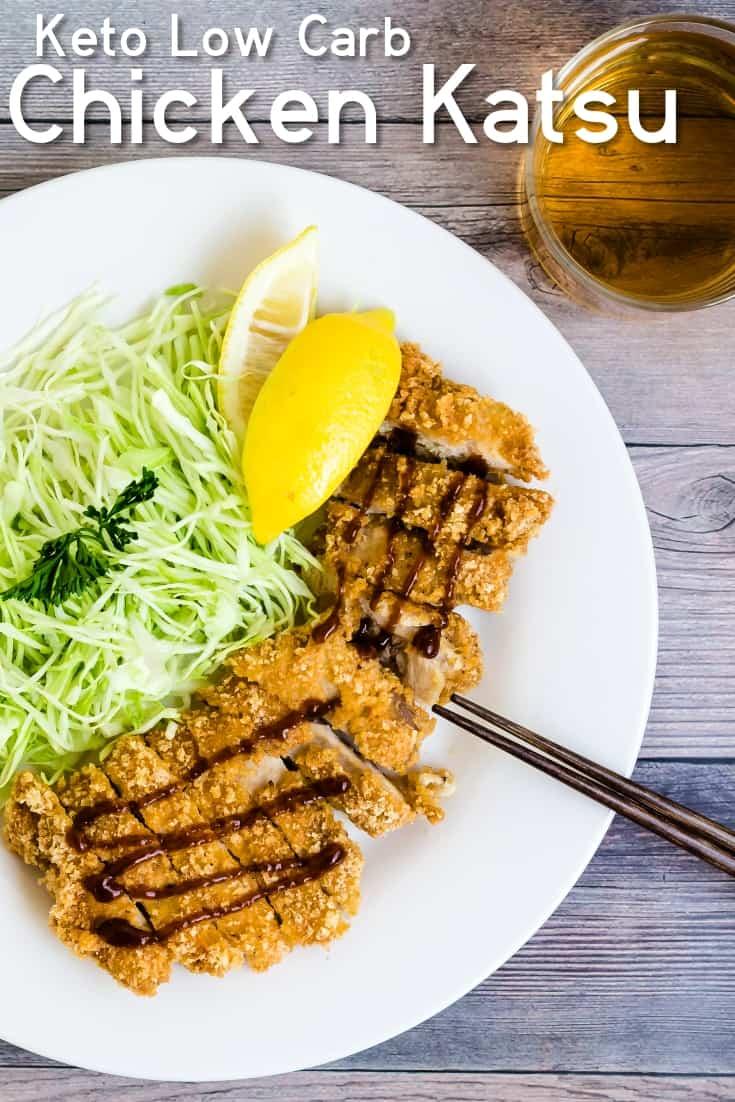 Keto Chicken Katsu - Cutlet LowCarbingAsian Pin 2